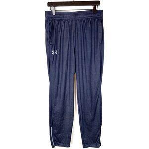 Under Armour Mens Sweat Pants Heat Gear Blue Large